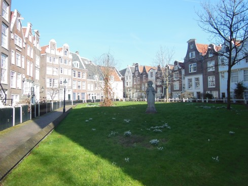 The beautiful courtyard near Spui